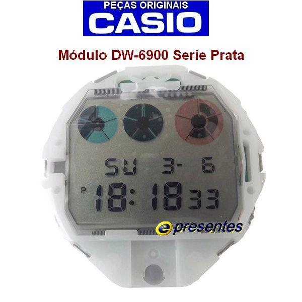Módulo DW-69001v LCD Circuito Interno Completo Casio G-shock  - E-Presentes