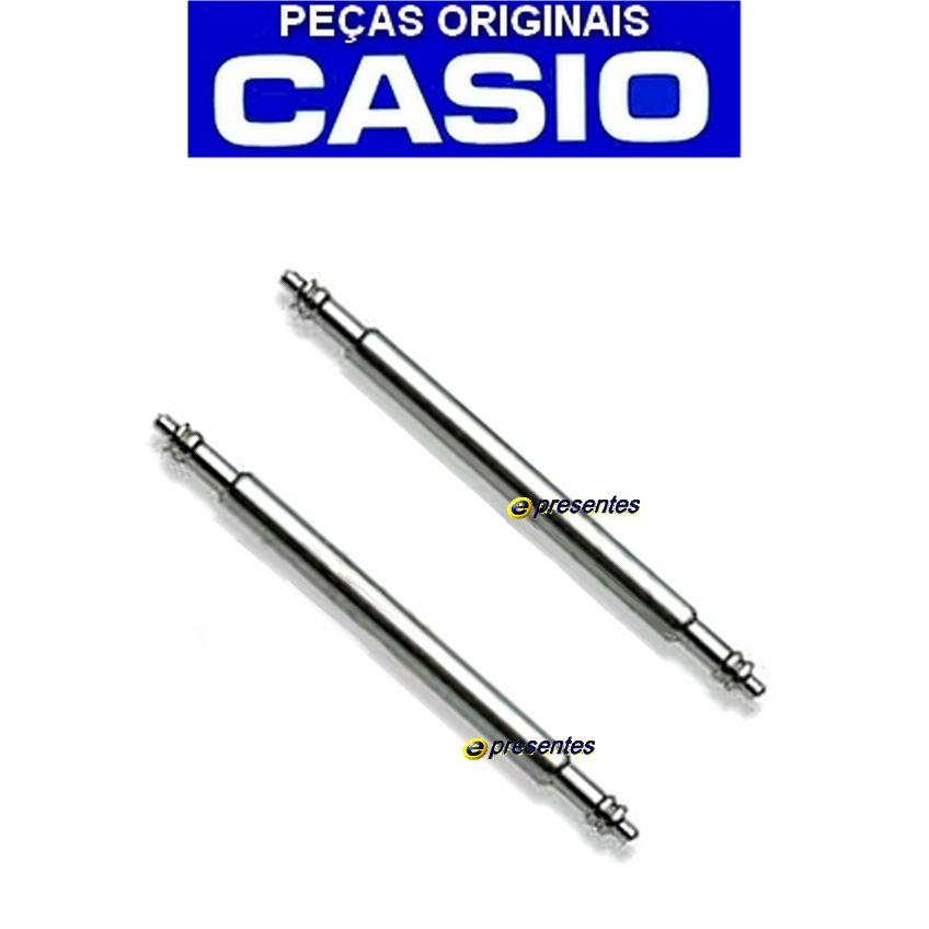 Par de Pinos Retrateis Pulseira Casio Protrek PRG-110 PRG-250 PRW-2000 PRW-2500 PRW-5100 E OUTROS  22.5MM / 17.5MM   - E-Presentes