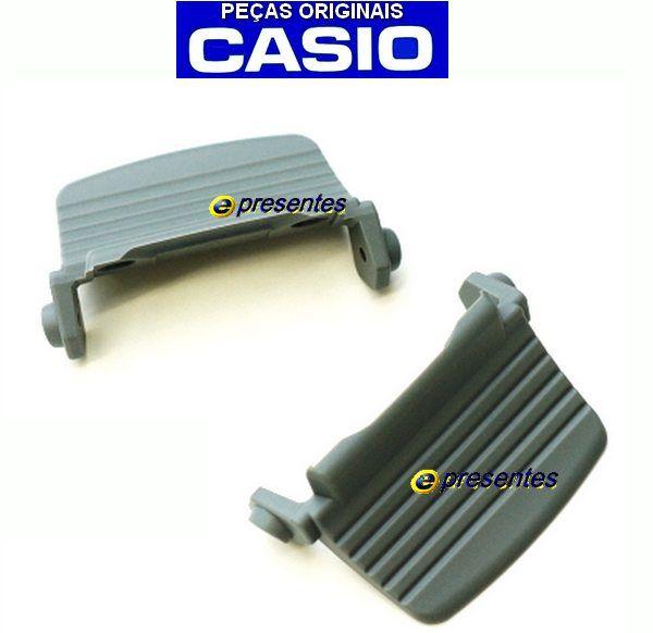 Par De Protetores Casio G-Shcok G-7900-2 Protector Case Back Cinza  - E-Presentes