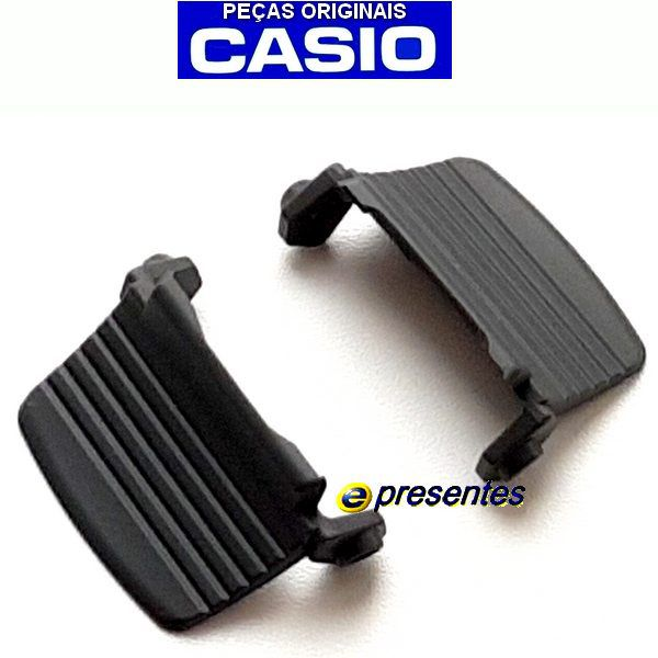 Par De Protetores Casio G-Shcok G-7900 / GW-7900 Protector Case Back Preto  - E-Presentes