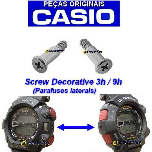 Par Parafusos Bezel Casio G-shock G-9000 GW-9000 GW-9010 GW-9025  - E-Presentes
