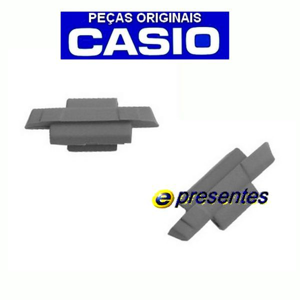 Par Terminais DB-E30 Adaptador Pulseira Casio Metal 100% Original  - E-Presentes