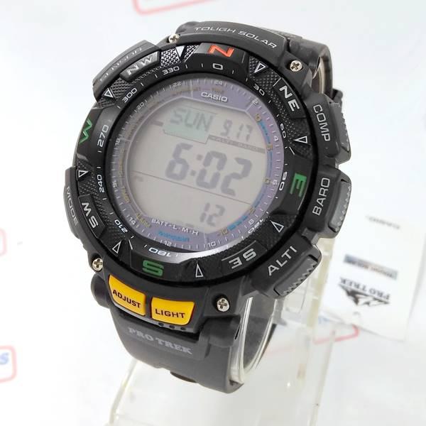 9b39008b692 PRG-240-1DR Relógio Casio Protrek Triplo Sensor - E-Presentes ...