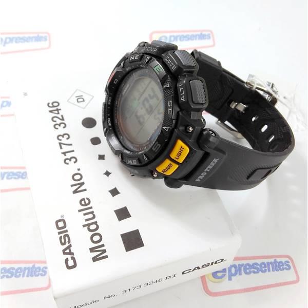 c580952fb58 ... PRG-240-1DR Relógio Casio Protrek Triplo Sensor - E-Presentes ...