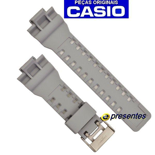 Pulseira Ga-110TS-8A3 Casio G-Shock Cinza Claro *  - E-Presentes