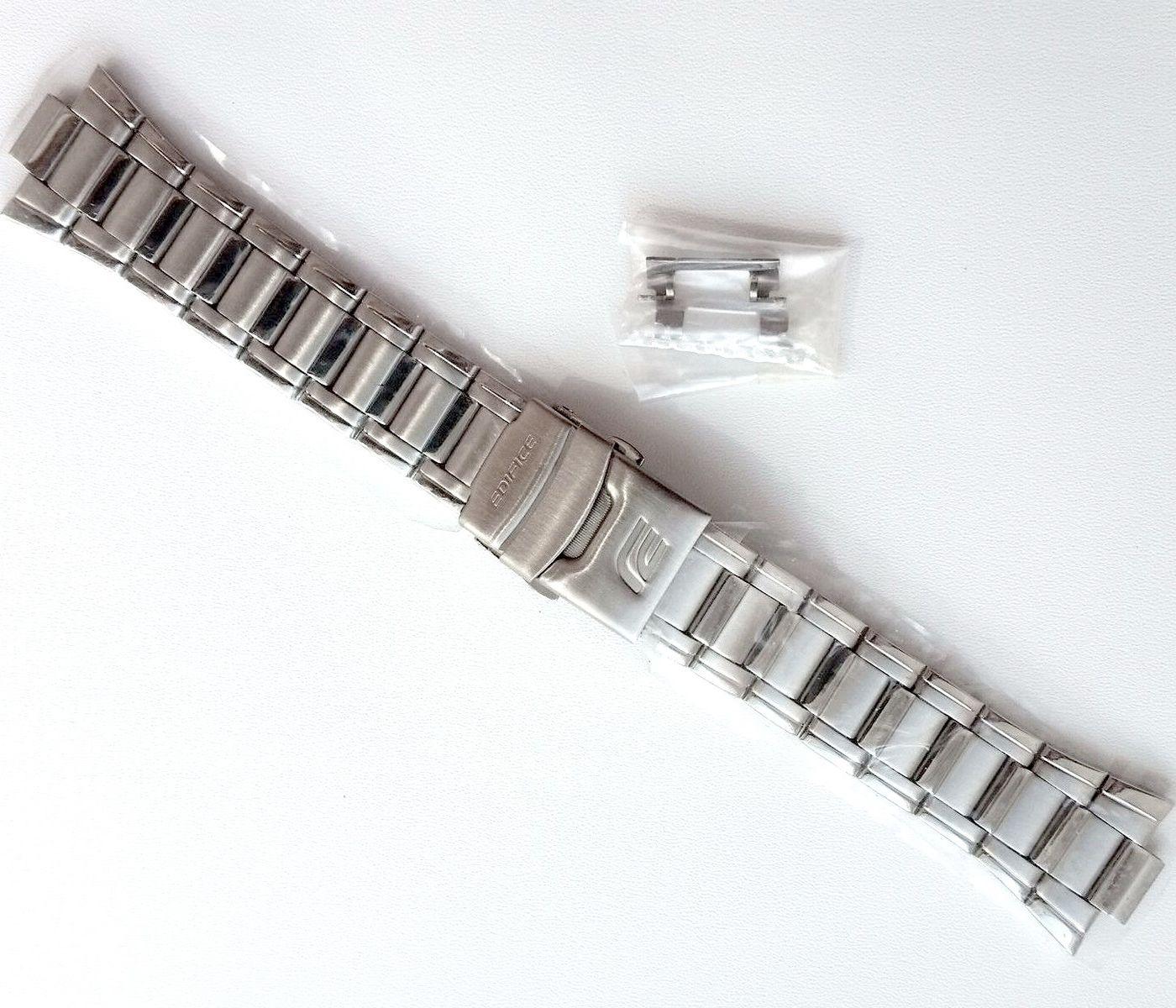 Pulseira Aço Inox Casio EDIFICE EFA-122D peça Original    - E-Presentes