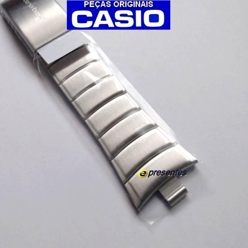 Pulseira Aço Inox Original Casio EDB-600D,  EDB-610D  - E-Presentes
