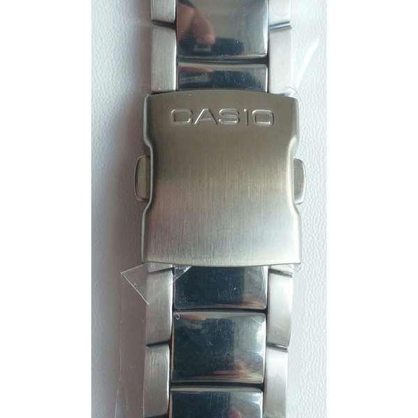 Pulseira Aço Inox Original Da Casio EDIFICE EFA-110 / EFA-110D  - E-Presentes
