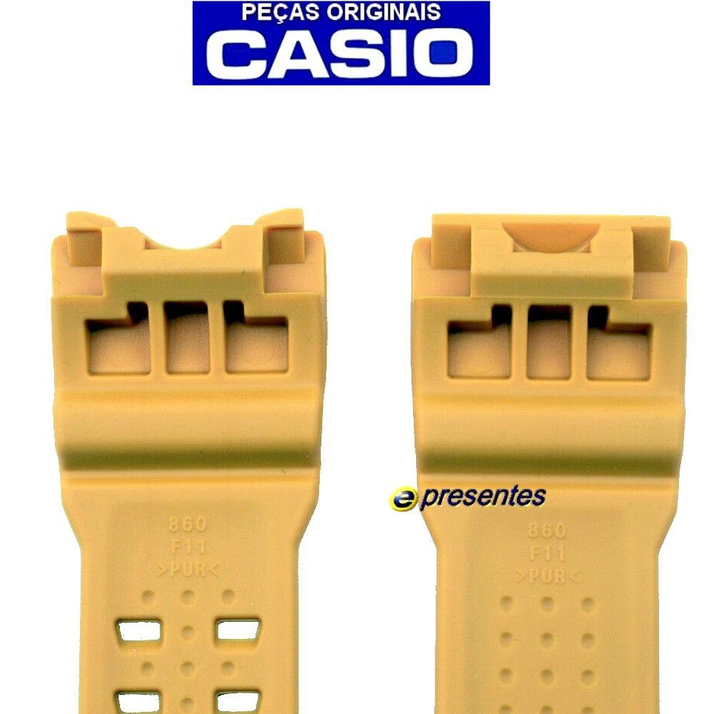 Pulseira Amarelo GWG-1000-1A9 Casio G-Shock - Peça 100% Original *  - E-Presentes