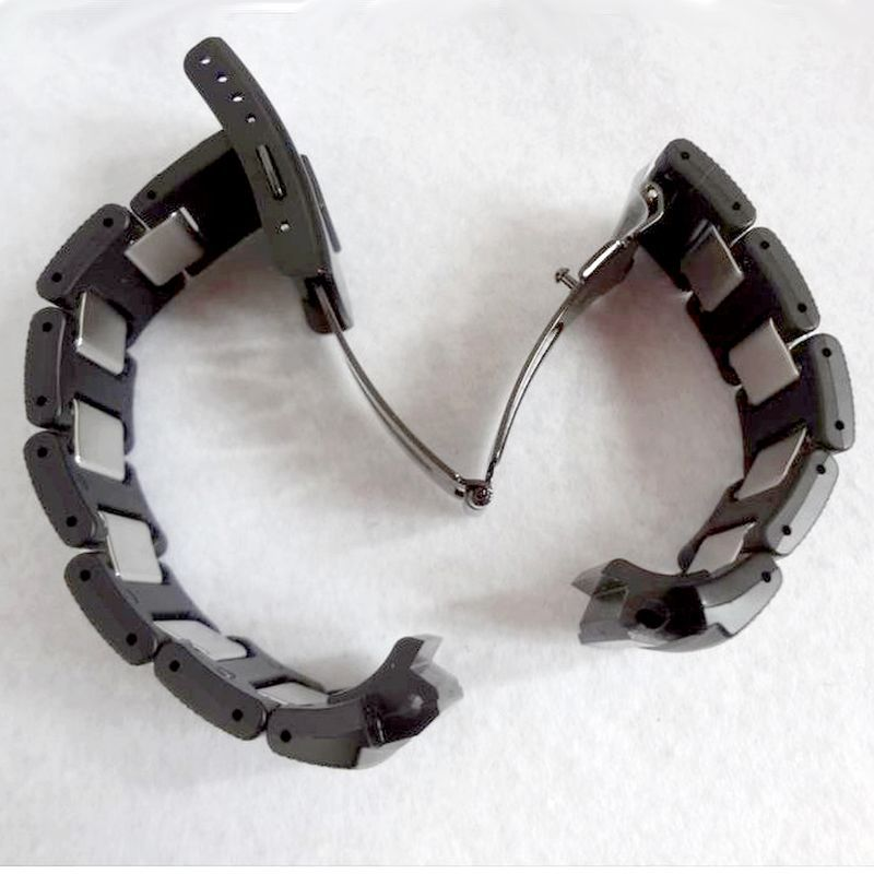 Pulseira AWG-100C-1a  Casio G-shock Resina e Metal  Black Ip - Adaptavel nos:  Aw-590 Aw-591 G-7710 G-7700, AWG-100, AWG-101, AMG-M100, AWR-M100, SKAW-590  - E-Presentes