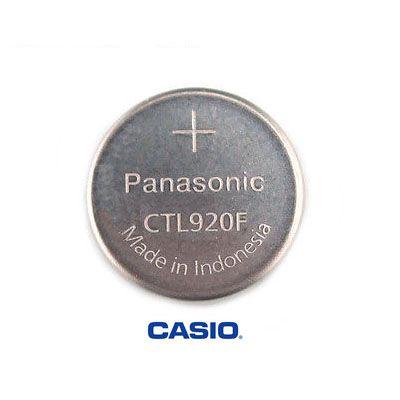 Pulseira Original Casio G-shock + Bateria CTL920 Recarregavel para G-1200 , G-1500 , GW-2000, GW-3500  - E-Presentes