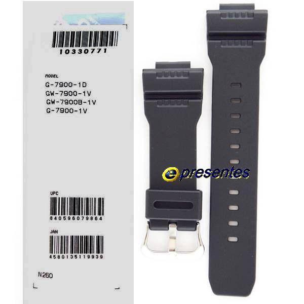 Pulseira + Bezel + 4 parafusos Bezel G-7900-1 Casio G-Shock  - E-Presentes