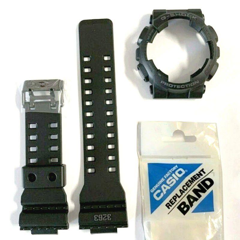 Pulseira + Bezel Capa Casio G-shock Gd-100ms-1 100% Original   - E-Presentes