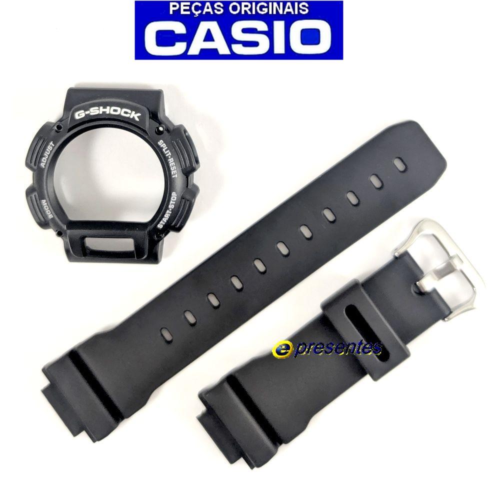Pulseira + Bezel Capa DW-9052v-1 Casio G-shock - Peças 100% Originais  - E-Presentes