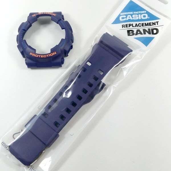 Pulseira + Bezel (Capa) GA-110fc-2 Casio G-Shock Azul Fosco  - E-Presentes