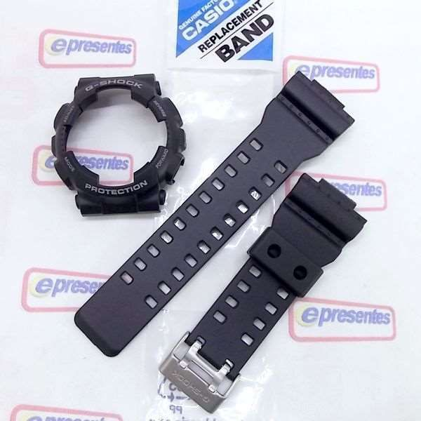 Pulseira + Bezel Capa GD-100-1B Casio G-Shock  - E-Presentes