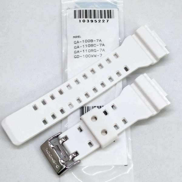 Pulseira + Bezel (capa) Gw-8900tr-7 Branco Fosco Casio G-shock  - E-Presentes
