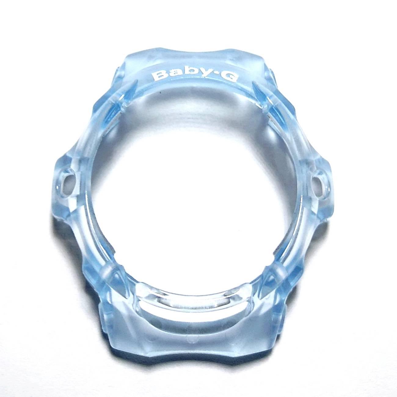 Pulseira + Bezel Casio Baby-G BG-169 Azul Claro Transparente  - E-Presentes