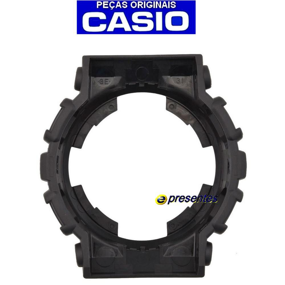 Pulseira + Bezel Casio G-shock 100% original GA-100BW-1A GA-110BW-1A   - E-Presentes