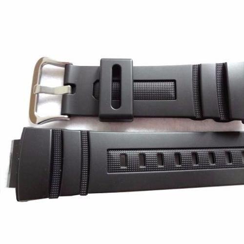 Pùlseira + Bezel Casio G-shock AWG-100, AWG-M100,AWR-M100 Preto Fosco  - E-Presentes