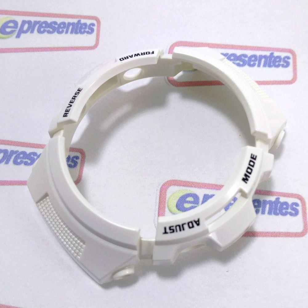 Pulseira + Bezel Casio G-shock Branco Aw-591SC-7 Peças Originais  - E-Presentes