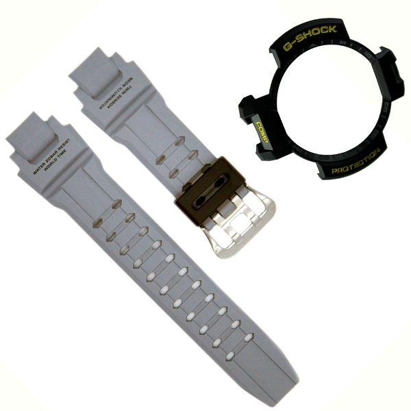 Pulseira + Bezel Casio G-Shock Cinza GA-1000-8a - 100% autentica  - E-Presentes