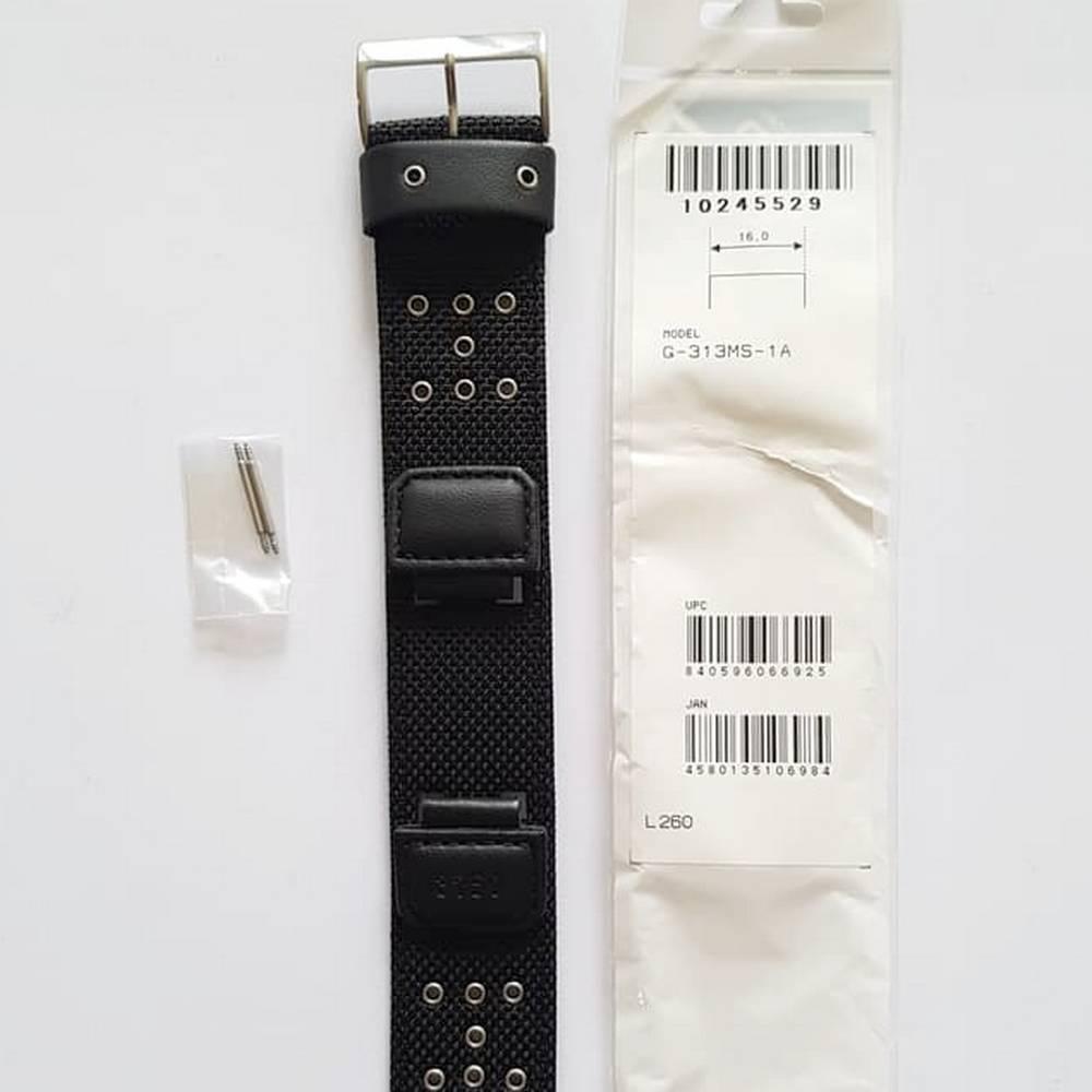 Pulseira + Bezel Casio G-shock G-313MS-1- PEÇAS 100% Originais  - E-Presentes