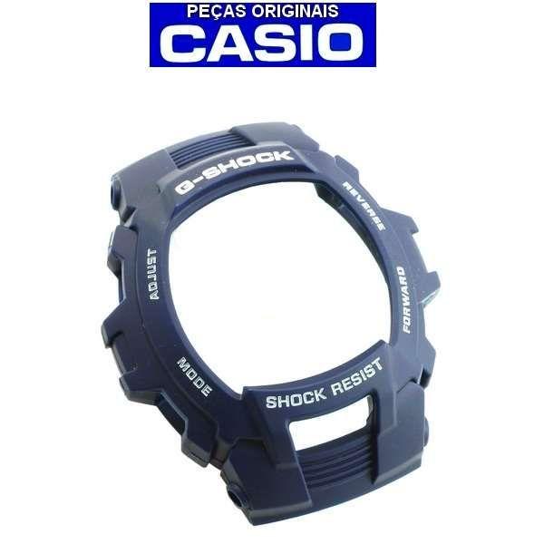 Pulseira +  Bezel Casio G-shock G-7500 G-7510 AZUL  - E-Presentes