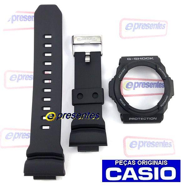Pulseira + Bezel Casio G-shock Ga-150-1a -100% Original  - E-Presentes