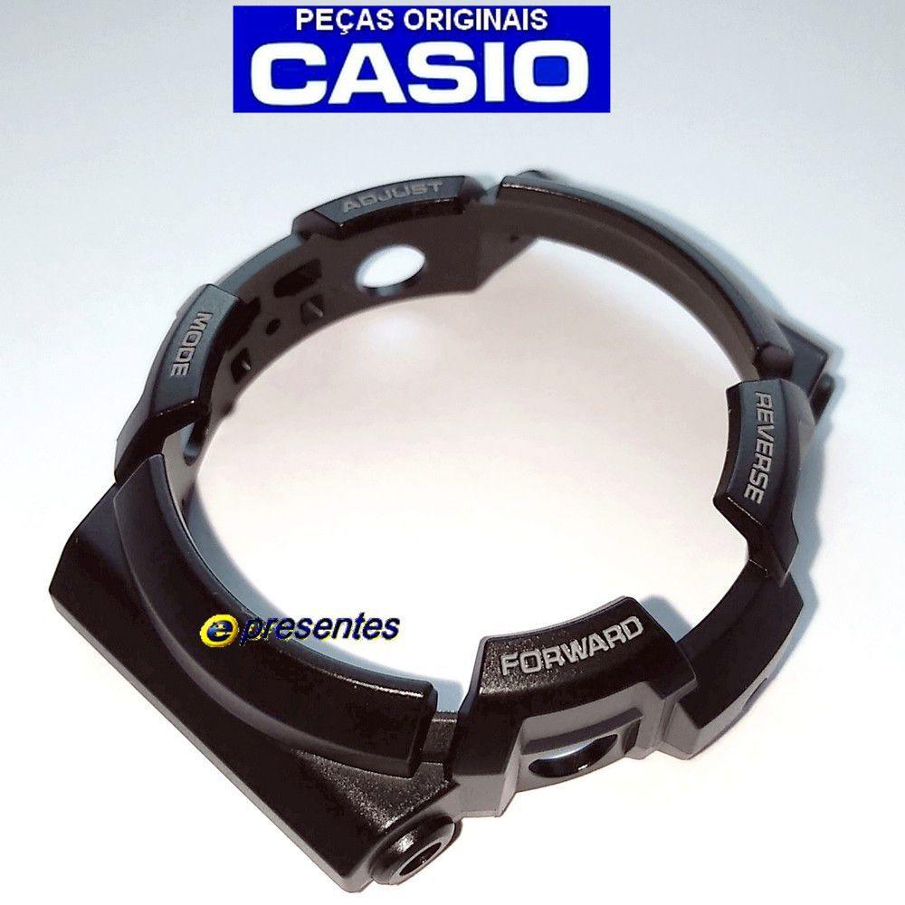 Pulseira + Bezel Casio G-shock Ga-200CB-1A SEMI BRILHANTE  - E-Presentes