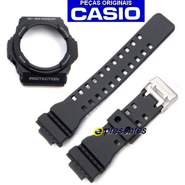 Pulseira + Bezel Casio G-shock Ga-300-1a Preto Fosco  - E-Presentes