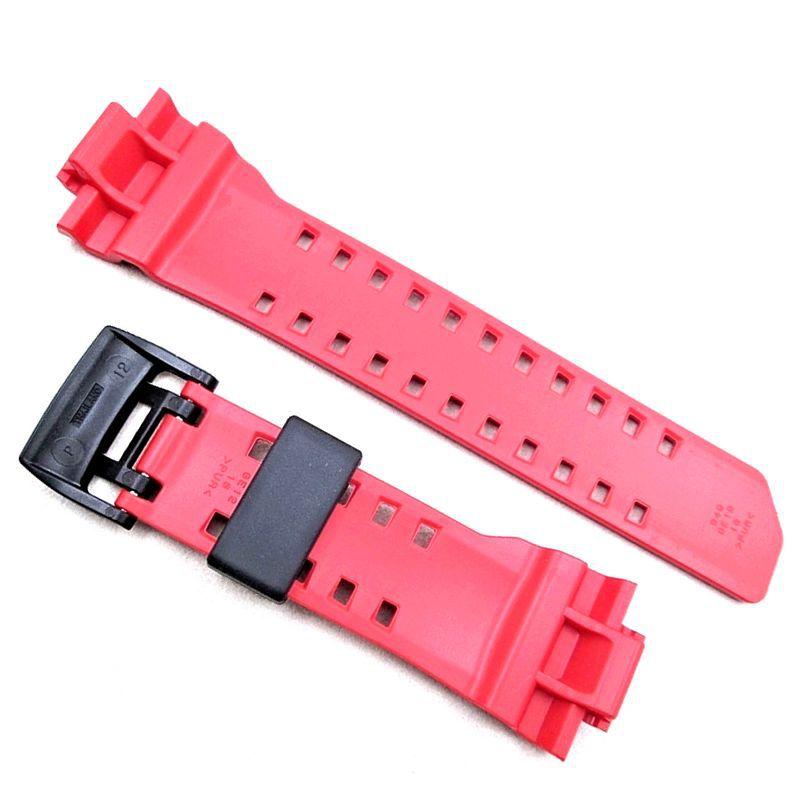 Pulseira + Bezel Casio G-Shock GBA-400-4A Gmix Vermelho  - E-Presentes