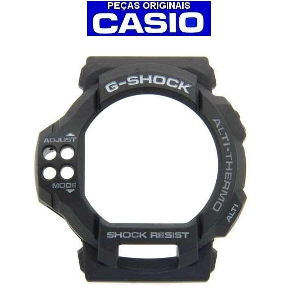 Pulseira + Bezel  Casio G-shock GDF-100-1a Preto - 100% Original  - E-Presentes
