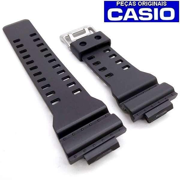 Pulseira + Bezel  Casio G-shock GDF-100 1b Preto - 100% Original  - E-Presentes