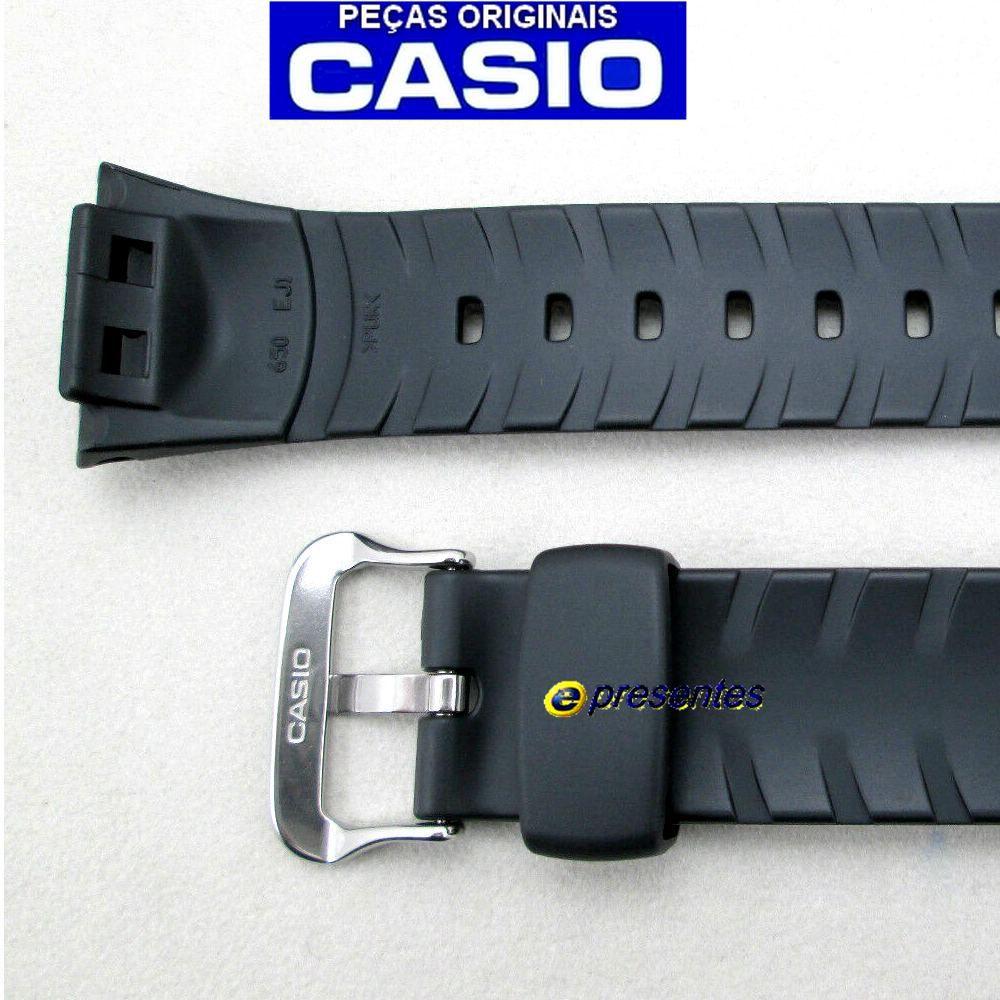 Pulseira + Bezel Casio G-shock GW-500, GW-530 Resina Preta  - E-Presentes