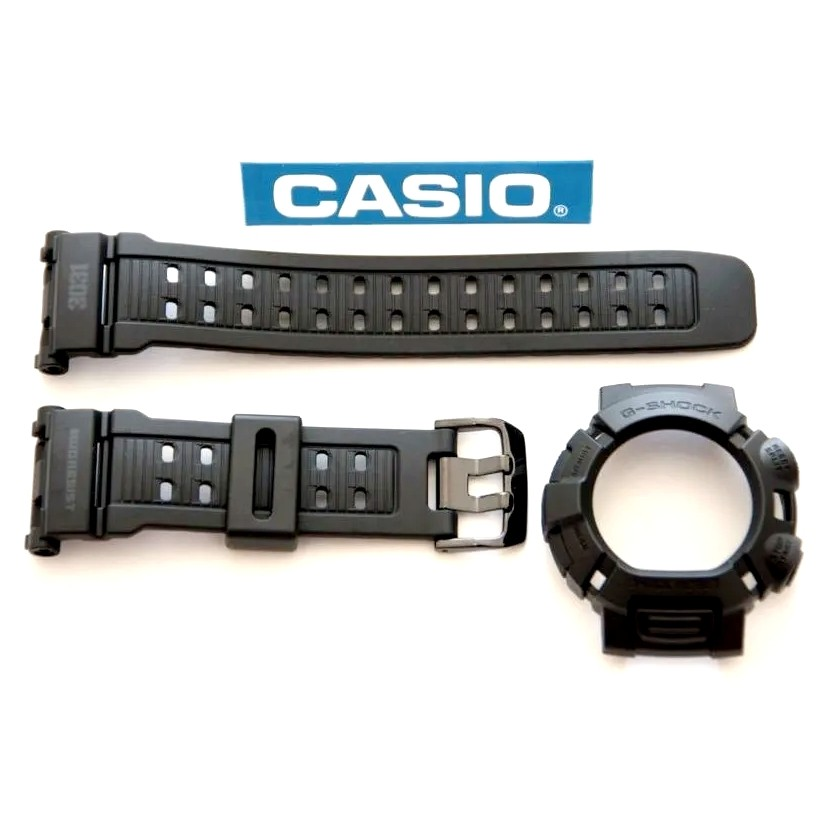 Pulseira + Bezel Casio G-shock Mudman G-9000MS-1 (3031)   - E-Presentes