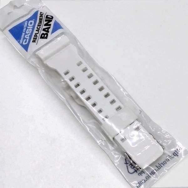 Pulseira + Bezel Casio Ghock Ga-110wb-7a Branco Fosco  - E-Presentes