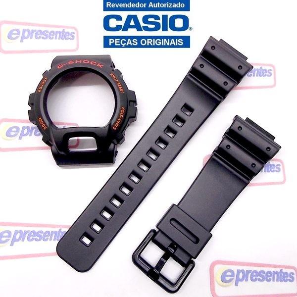 Pulseira + Bezel Casio Gshock Dw-6900e DW-6900G - 100% Original  - E-Presentes