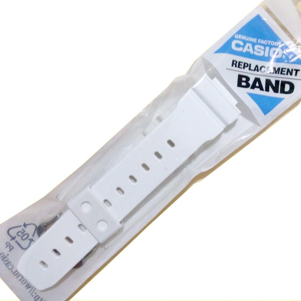 Pulseira + Bezel DW-6900PL-7 Branco Brilhante 100% Original Casio G-Shock  - E-Presentes