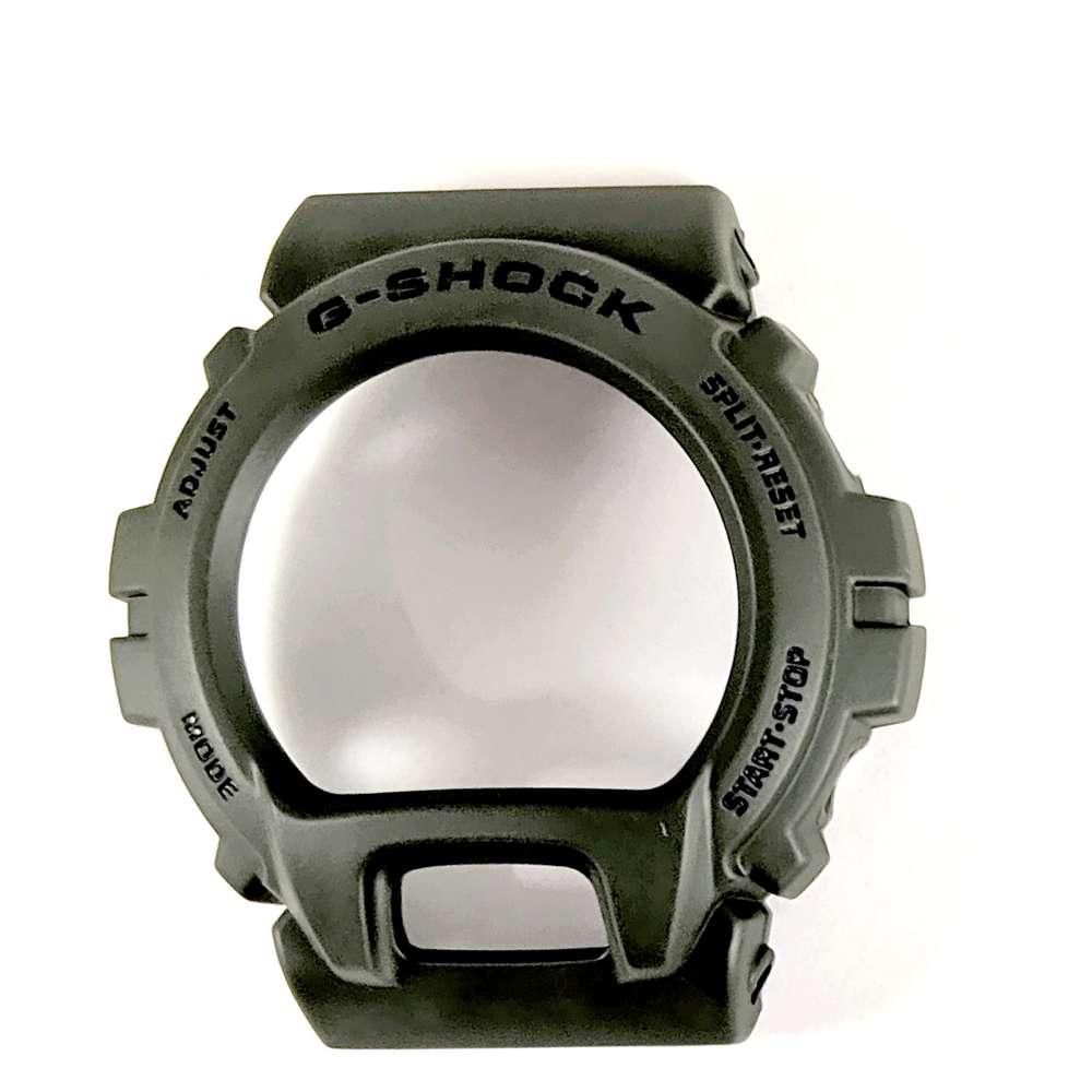 Pulseira + Bezel DW-6900 verde militar fosco Casio G-shock  - E-Presentes