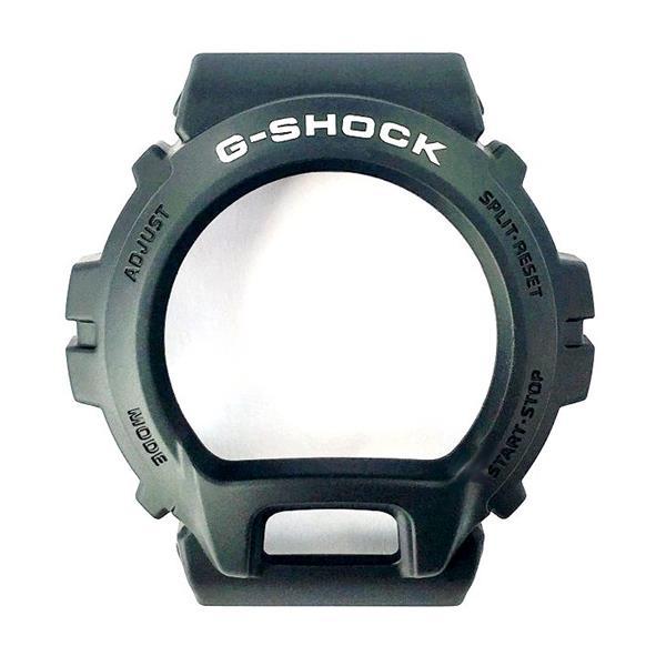 Pulseira + Bezel DW-6900BW Casio G-shock Preto fosco - Peça 100% Original  - E-Presentes