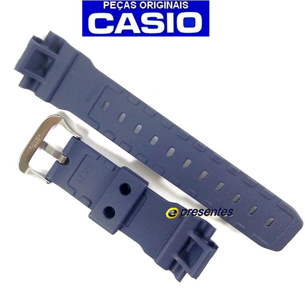 Pulseira + Bezel DW-6900HM-2 Azul Fosco Casio G-Shock   - E-Presentes