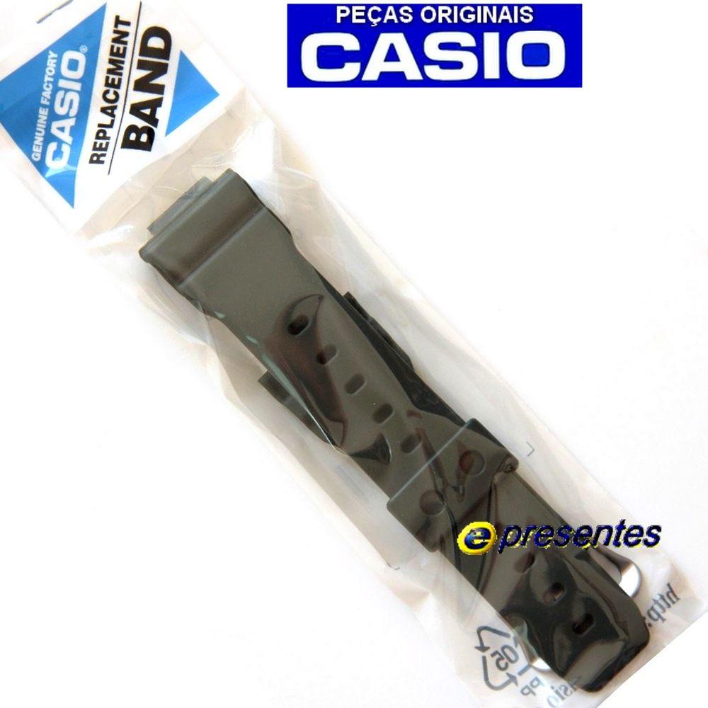 Pulseira + Bezel G-5600KG-3 e GW-M5610KG-3 Verde Casio G-shock - Peças Originais  - E-Presentes