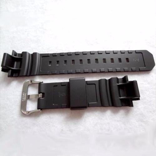 Pulseira + Bezel G-7700 Casio G-Shock Resina Preto fosco  - E-Presentes