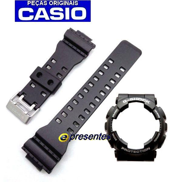 Pulseira + Bezel GA-100-1a4 Casio G-shock  - E-Presentes