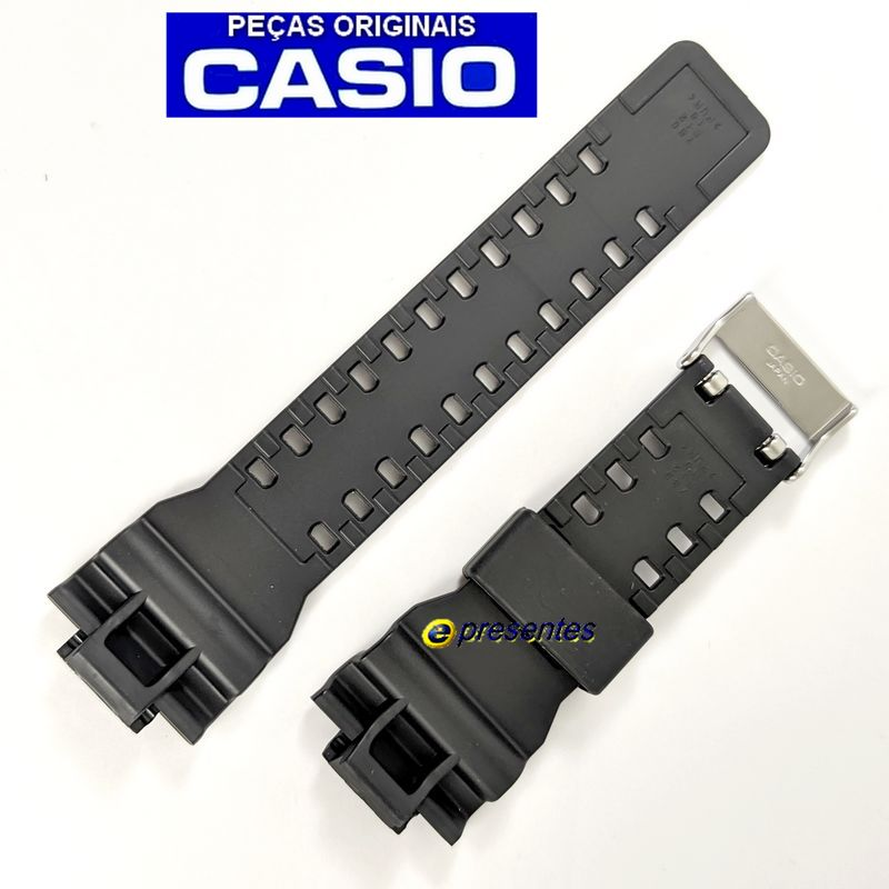Pulseira + Bezel GA-110TP-1A Casio G-shock Preto / GRAFITE TRIBAL   - E-Presentes