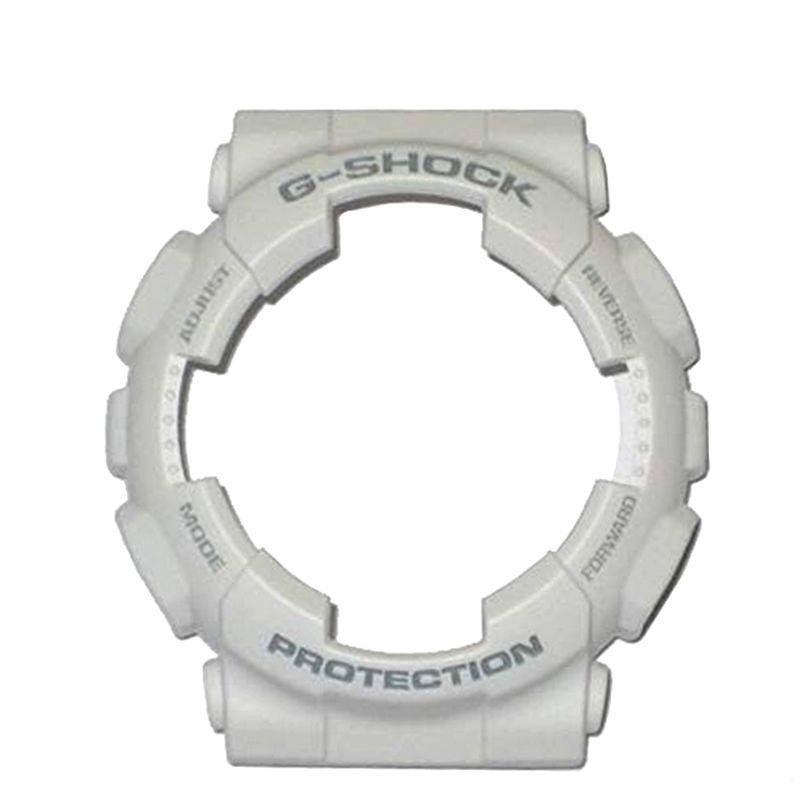 Pulseira + Bezel GA-120A-7 Casio G-Shock Branco Fosco  - E-Presentes
