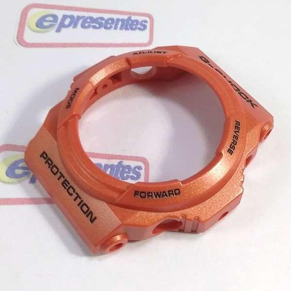 Pulseira + Bezel GA-150A-4ADR Casio G-shock Cor Laranja  - E-Presentes