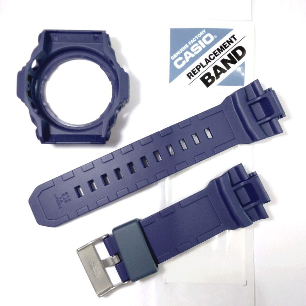Pulseira + Bezel GA-310-2 Casio G-shock Azul Peças 100% Genuínas  - E-Presentes