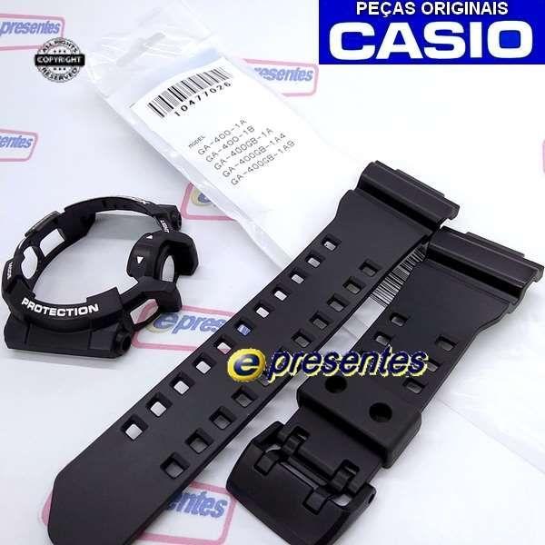 Pulseira + BEZEL GA-400-1ADR -100% Original Casio G-shock   - E-Presentes